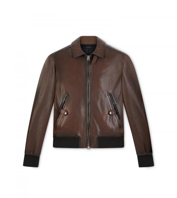 Tom Ford Leather Jacket Men