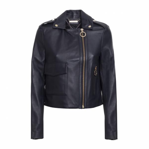 Tommy Hilfiger Leather Jacket Women
