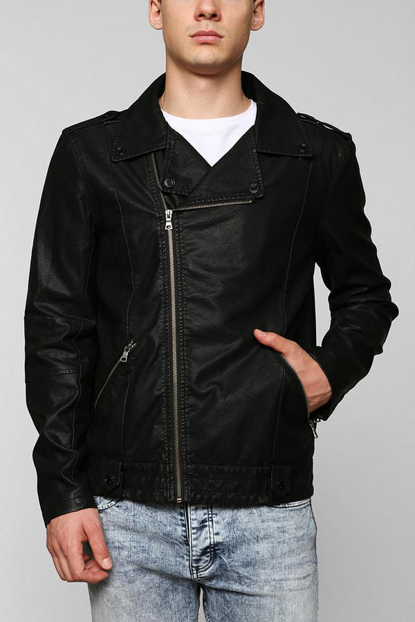 Urban Outfitters Leather Jacket Men
