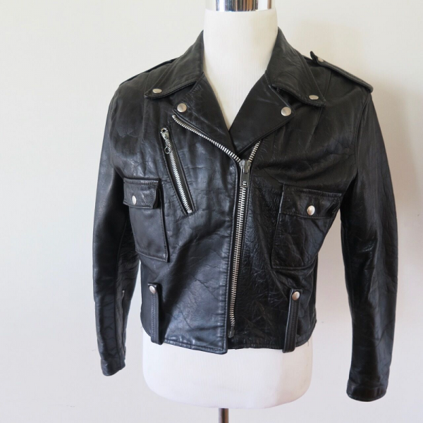Vintage Womens Harleys Davidson Leather Jacket