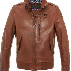 Aaron Marino Leather Jacket