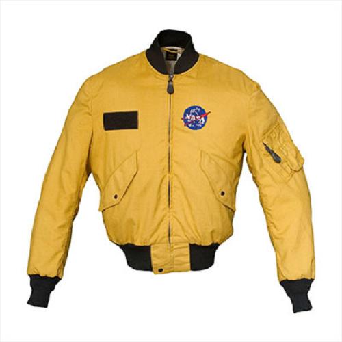Adam Savage Nasa Leather Jacket