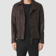 All Saints Brown Leather Jacket