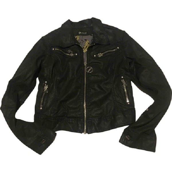 Andy Warhol Womens Leather Jacket