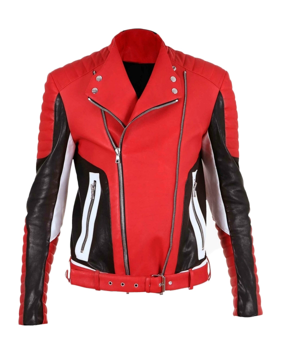 Balmain Mens Leather Jackets