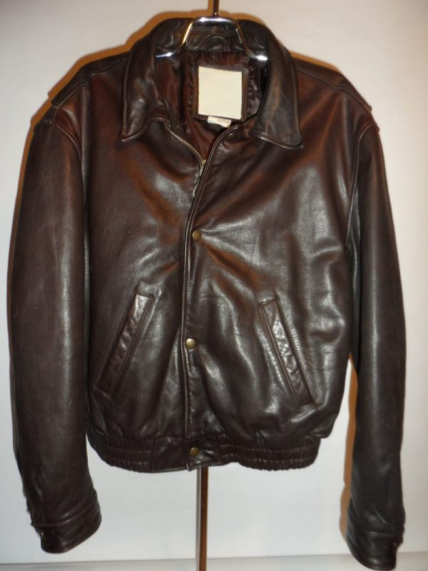 Banana Republic Down Leather Jacket