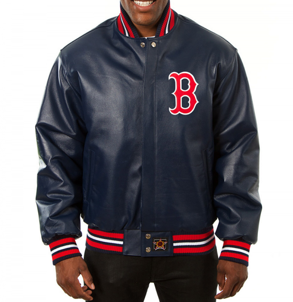 Boston Red Sox Leather Jacket