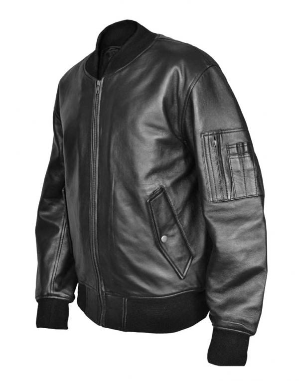 Combat Leather Jacket