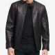 Dkny Black Leather Jacket