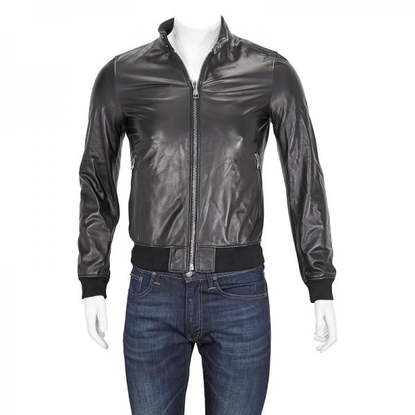 Ferragamo Mens Leather Jacket