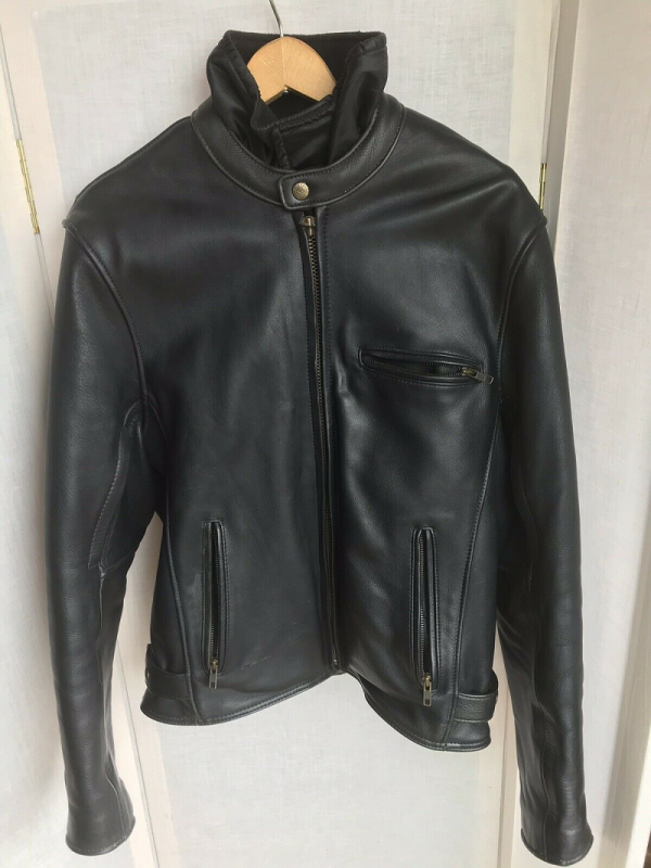 Fox Creeks Greyson Motorcycle Leather Jacket