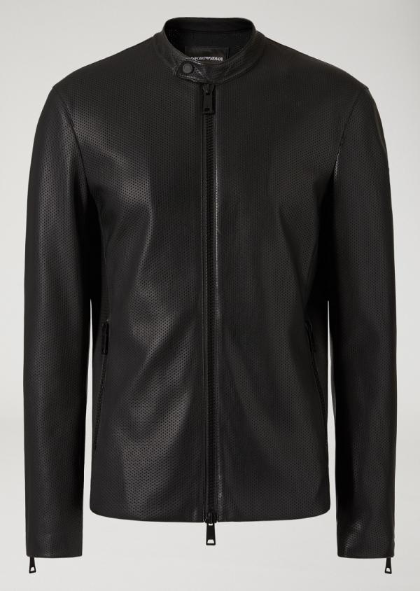 Giorgio Armani Milano Leather Jacket