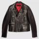 Gucci Biker Leather Jacket