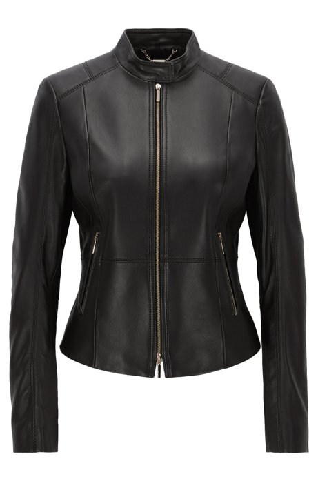 Hugo Boss Lambskin Leather Jacket