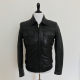 J Lindeberg Black Leather Jacket