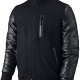 Jordan Leather Jacket Black