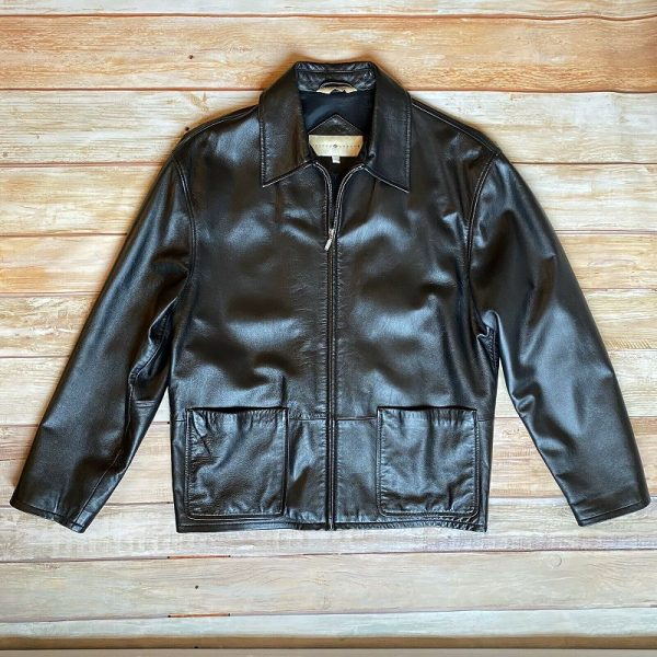 Joseph Abboud Leather Jacket