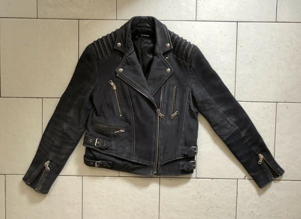 Kooples Leather Jacket Womens