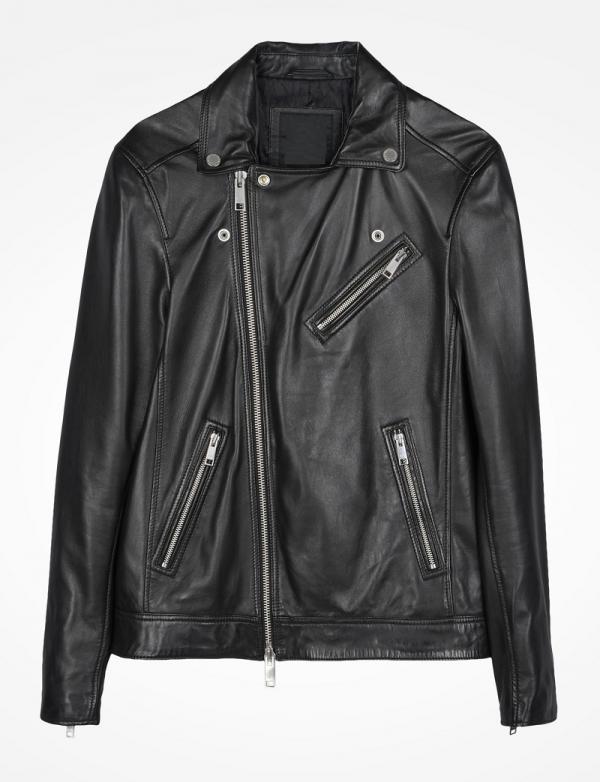 Leather Jacket Armani Exchange