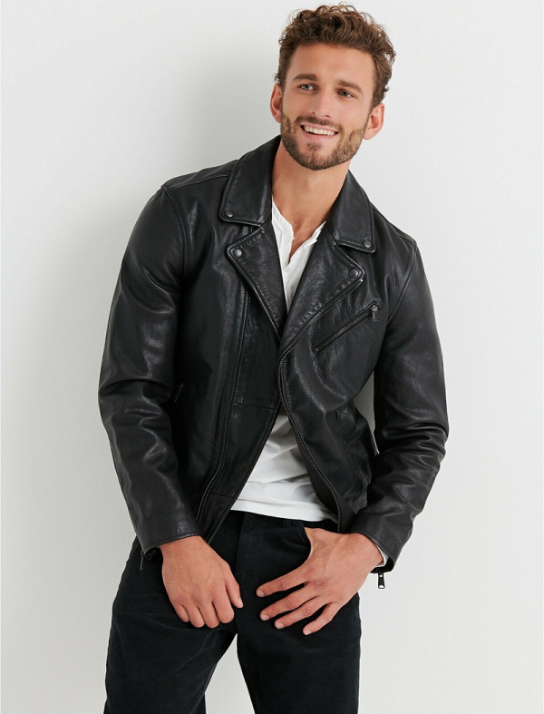 Leather Jacket Lucky Brand