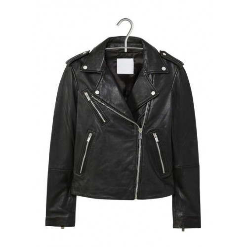 Leather Jacket Mango