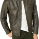 Lucky Brand Mens Leather Jacket