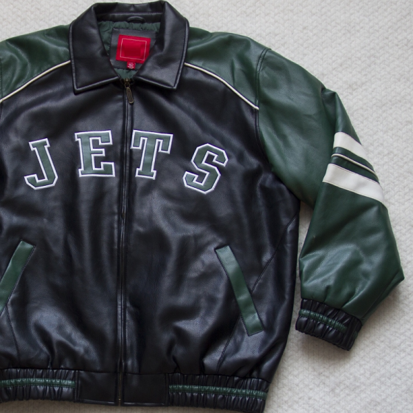 New Yorks Jets Leather Jacket