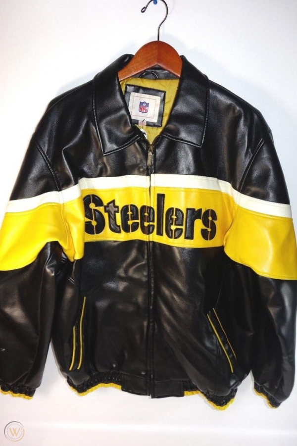Nfl Faux Leather Jacket