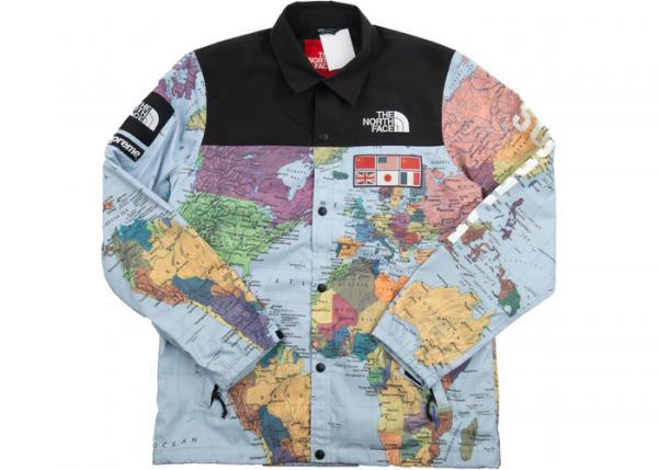 North Face Map Jacket