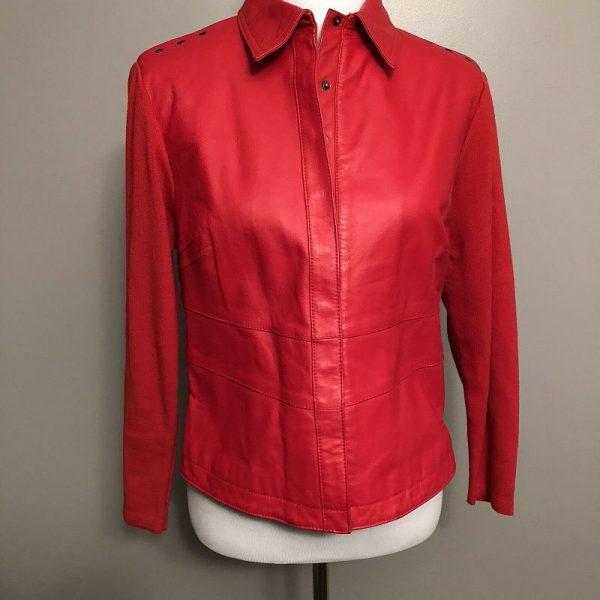 Peter Nygard Leather Jacket