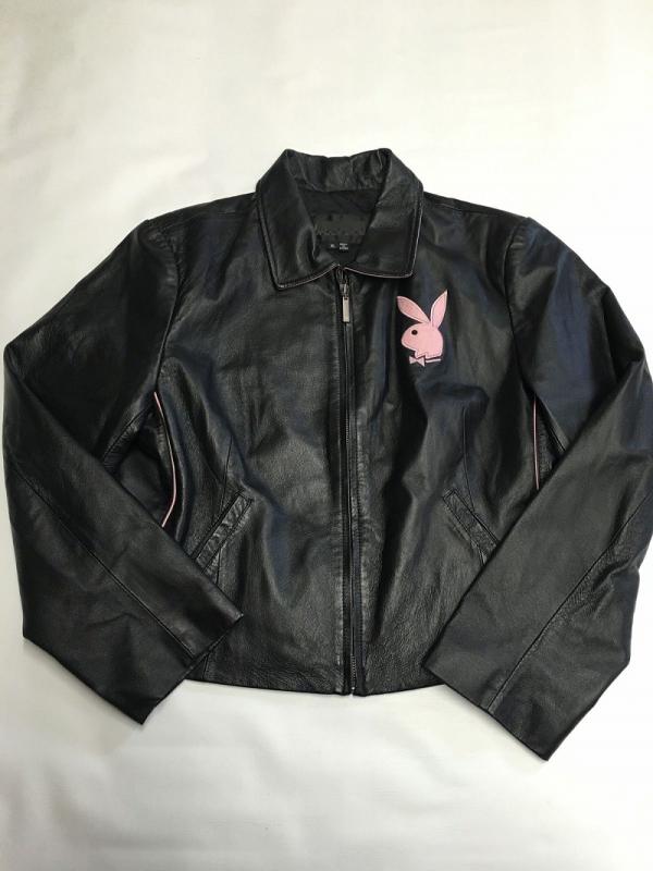 Playboy Bunny Leather Jacket