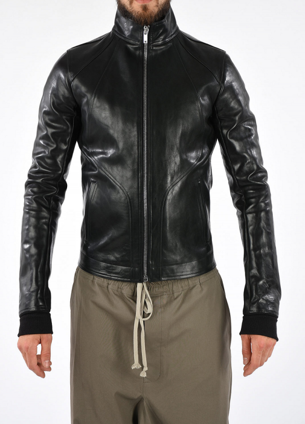 Rick Owen Leather Jacket