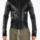 Rick Owen Leather Jacket