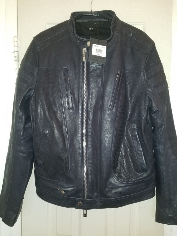 Rogue Mens Leather Jacket