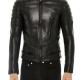 Sandro Mens Leather Jacket