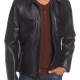 Schott Slim Fit Leather Jacket