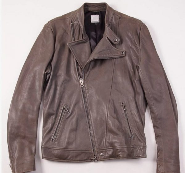 Toj Black Leather Jacket