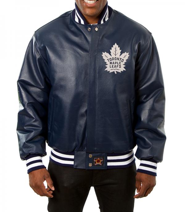 Toronto Maple Leafs Leather Jacket