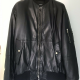 Versaces Men Leather Jacket