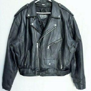 Vilanto Black Leather Jacket