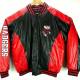 Wisconsin Badgers Leather Jacket
