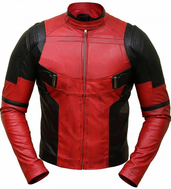 Deadpool Leather Jacket