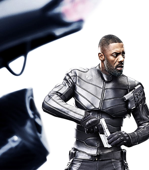 Fast And Furious Idris Elba Leather Jacket