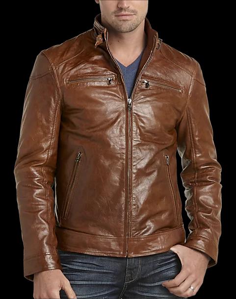 Joseph Abboud Leather Jacket