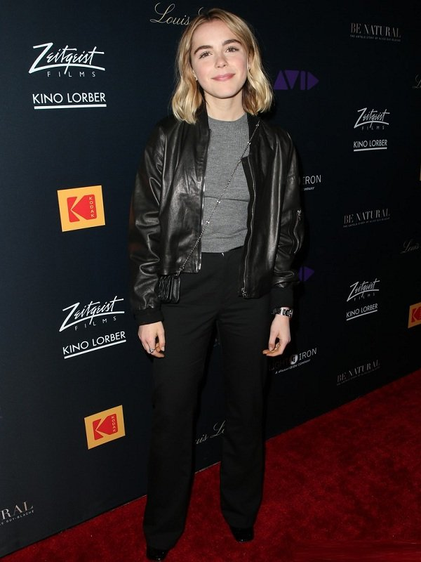 Sabrinas Spellman Leather Jacket