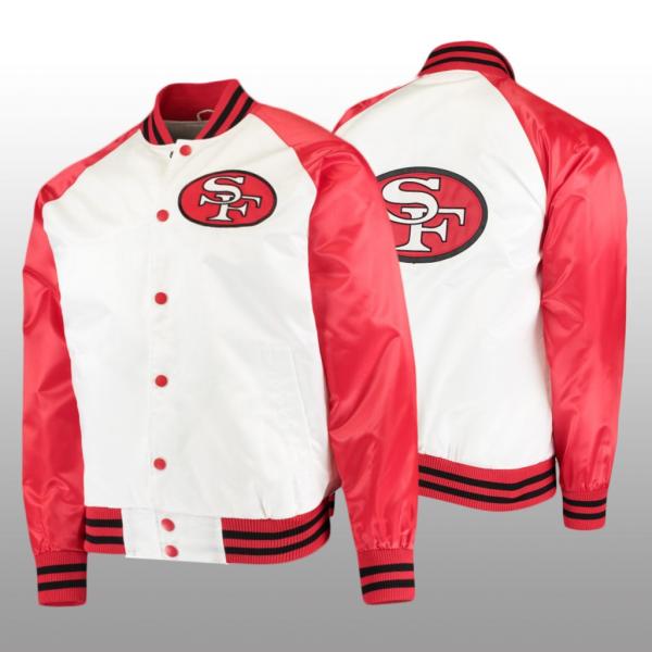 49ers Varsity Jacket
