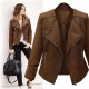 Cardigann Leather Jacket