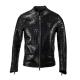Croco Leather Jacket
