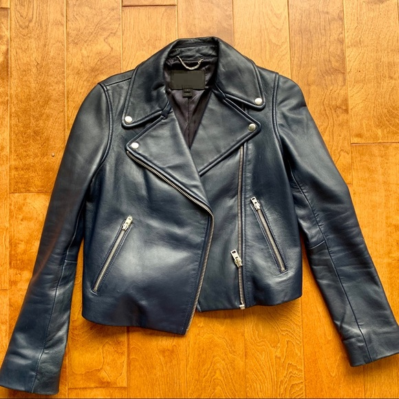 J.crew Skiff Leather Jacket