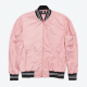 Karamo Dusty Rose Bomber Jacket